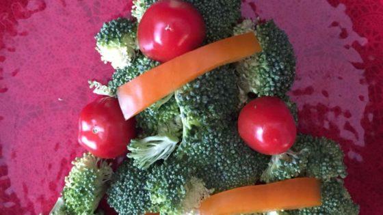 Veggie Tree Platter