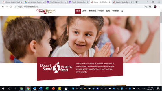 A new and improved website for Healthy Start!