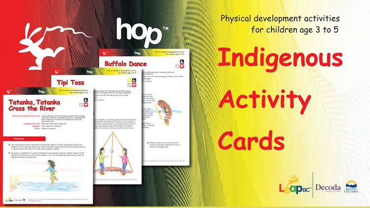 Indigenous Activity Cards
